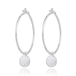 Lille dot hoops